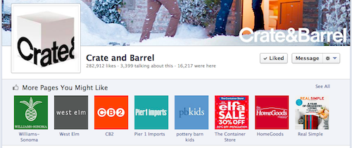 Facebook Similar Page Suggestions may lead new fans to your competitors.