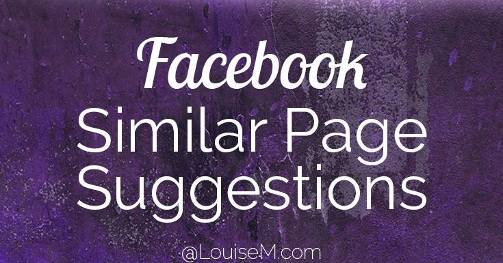 ¿Le gustaría desactivar las sugerencias de páginas de Facebook similares en su página?  La participación en las sugerencias de páginas es voluntaria.  Cómo apagarlo.