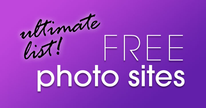 free photo sites banner