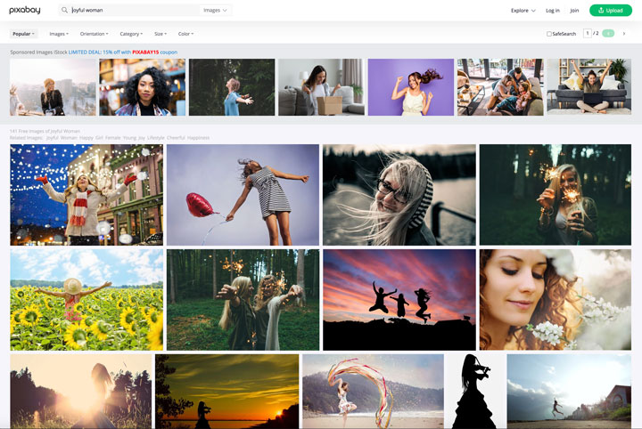 pixabay free syock photos search results