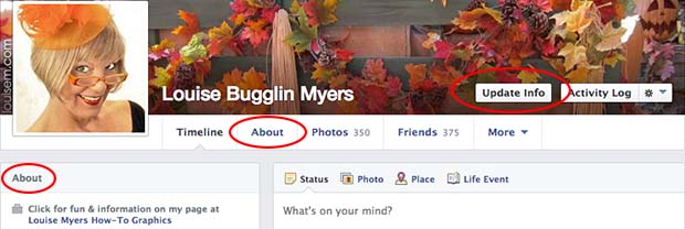 How to Add your Facebook Fan Page to your Personal Profile Step 1