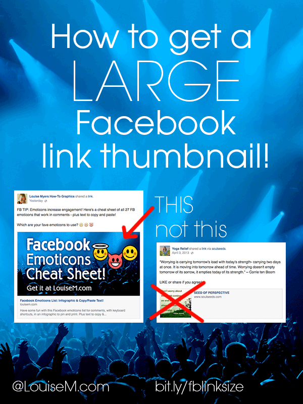 The Secret to Getting a Large Facebook Link Thumbnail