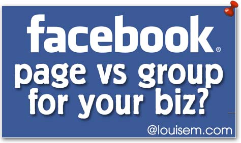 Facebook Page vs Group for Your Business?