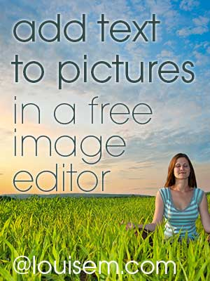 How to Easily Add Text to Pictures in the Free Photo Editor Pixlr