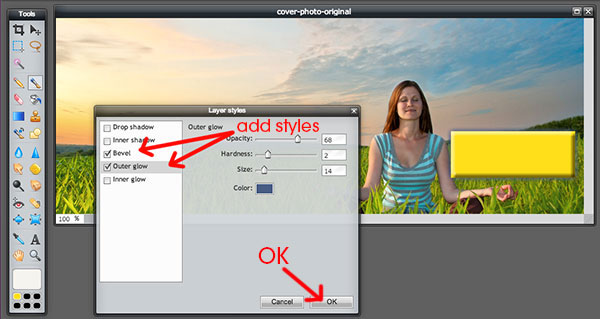 How to Add a Call-to-Action Button to Your Facebook Cover Step 6