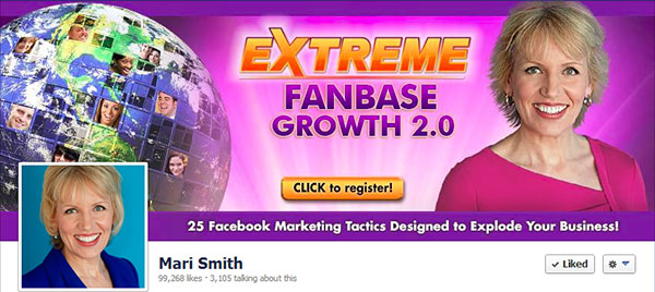 facebook cover photo for marketing a webinar
