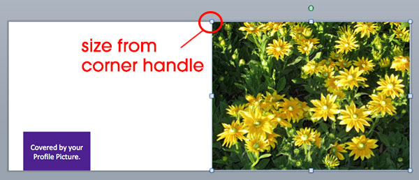 How to Create Your Facebook Cover Photo in PowerPoint Step 1