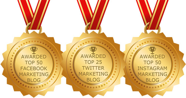 LouiseM.com was recently named as one of the TOP Marketing Blogs by Feedspot.