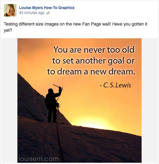 Best Facebook Photo Sizes 2014: Fan Page Wall Too Small