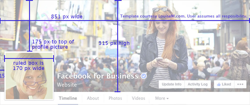 facebook fan page cover photo 2014 free template