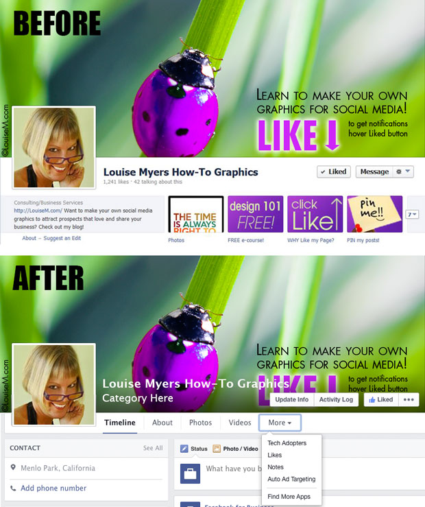Facebook Fan Page & Cover Photo Redesign