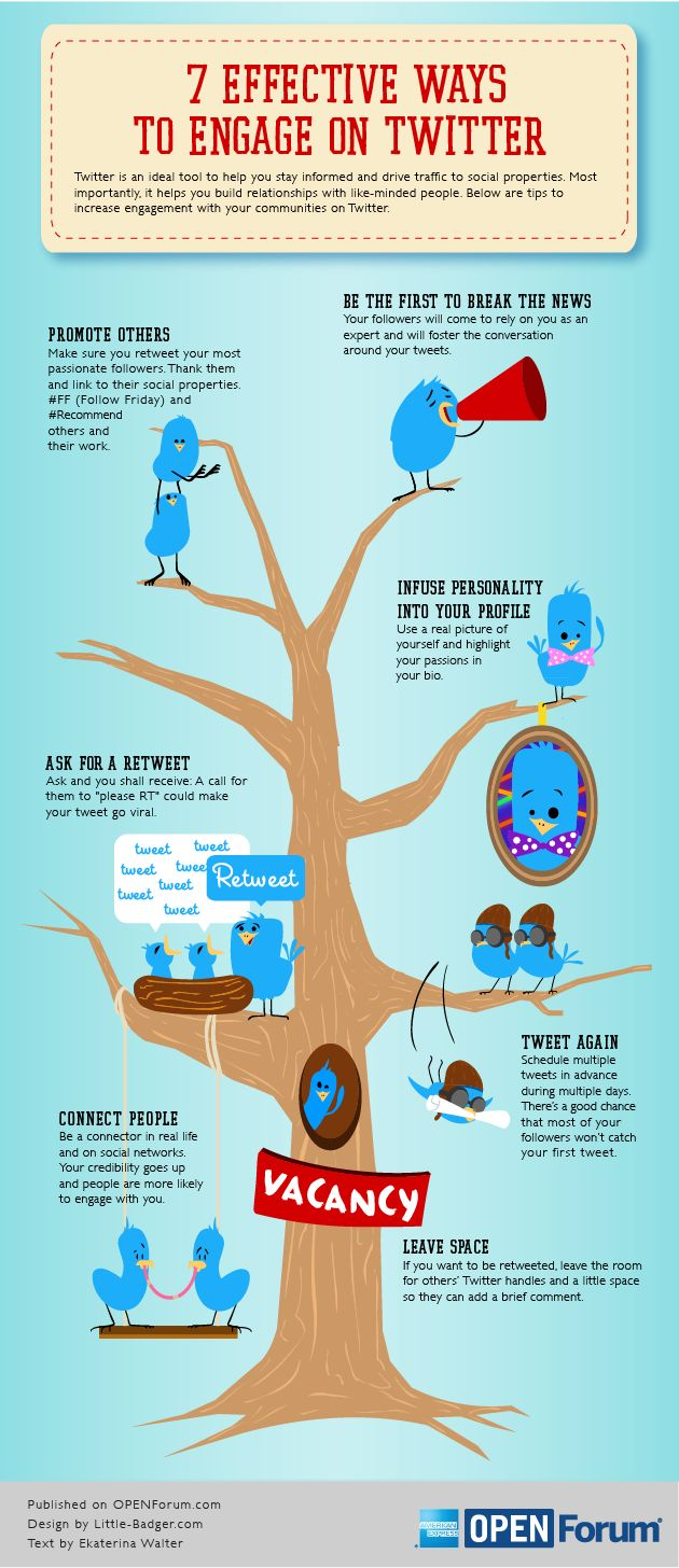 How to Increase Twitter Engagement [infographic]