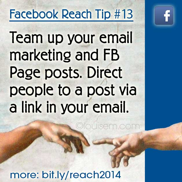 Increase Facebook Reach Tips: Boost Your Facebook Page Reach with Email