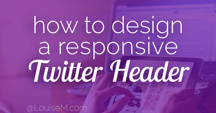 Responsive Twitter Header Size and Template [2016]