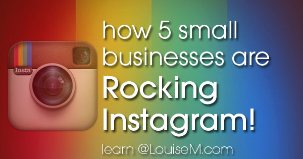 5 small businesses rocking Instagram marketing!