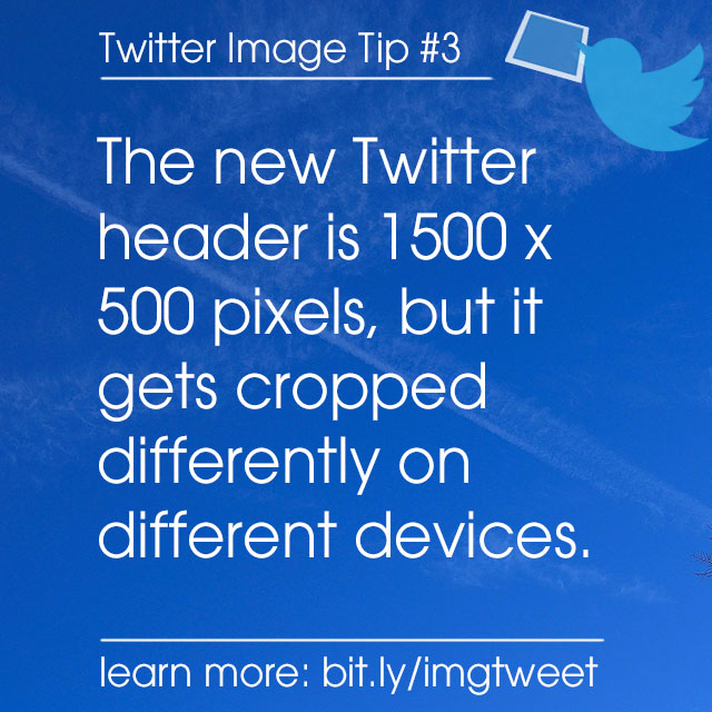 What is the New twitter Header Size?