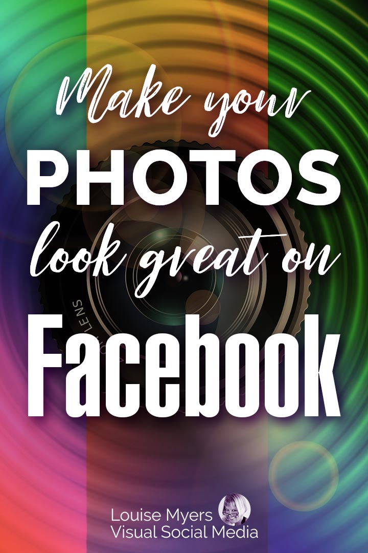 How to Optimize Photos for Facebook image for Pinterest