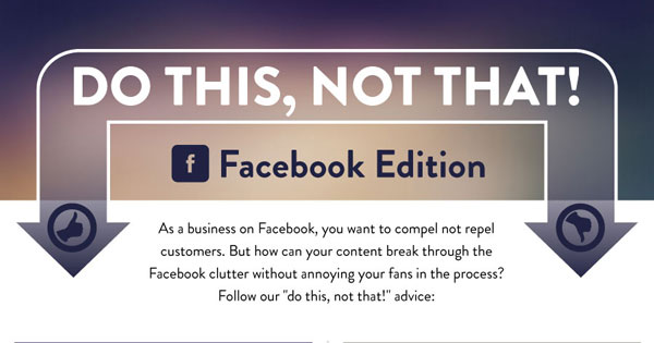 Facebook for Business: Do This, Not That!