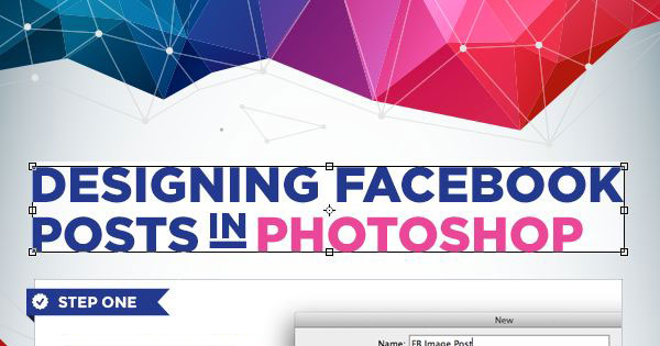How to Create Facebook Photo Posts in Photoshop