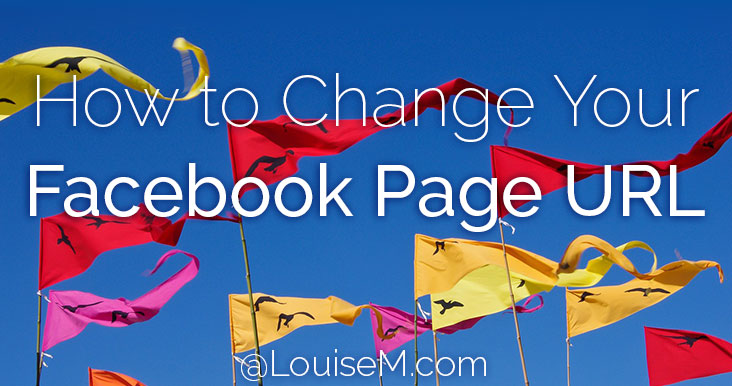 How to Change Your Facebook Page URL / Username 2019