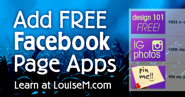 How to Add FREE Facebook Apps for Pages: Tutorials