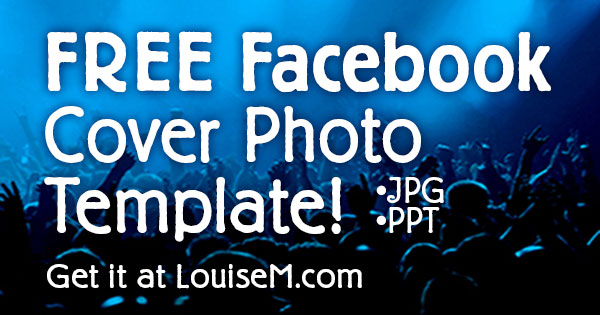 facebook fan page cover photo 2014 free template - Photography Cover Page