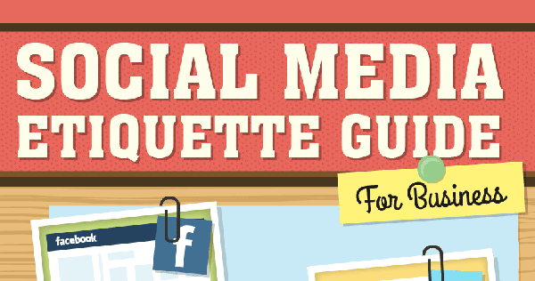 How's Your Social Media Etiquette? Check This Infographic!