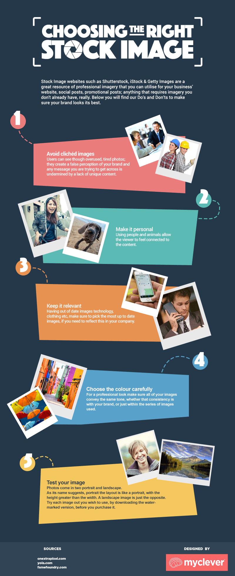 5 Critical Tips to Choose the Right Stock Image: Infographic