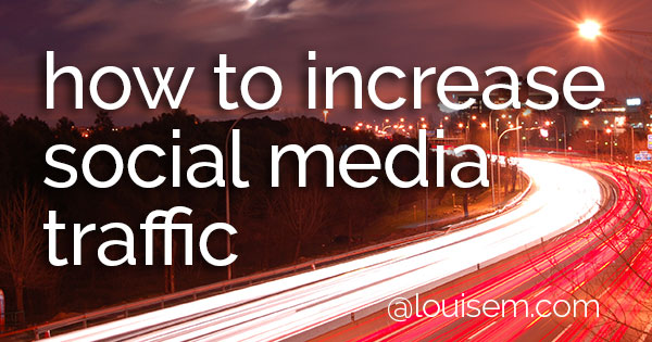 Looking to increase your social media traffic? Don't skip the 7 essential tips on this infographic.
