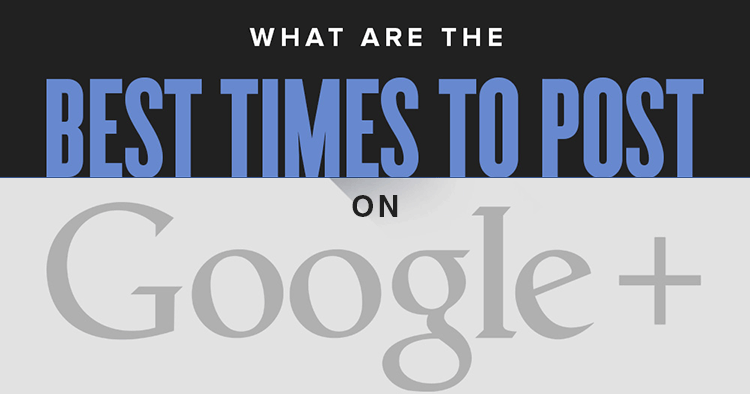 Wondering the best time to post on Google Plus? Users are most active on weekday mornings - But try this tool to identify your own best time to post on G+!