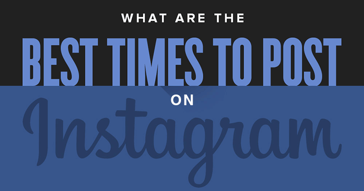 Wondering the best time to post on Instagram? Learn suggested best times on this infographic, plus how to find your own audience's preferred time!