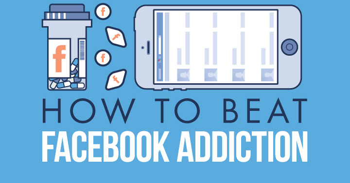 Could you have Facebook addiction? If Facebook is interfering with real life, it's time to take control! Follow the valuable tips on this infographic.