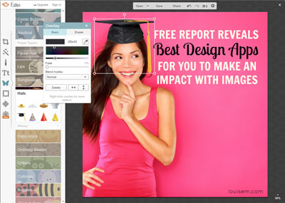 How to Use PicMonkey Step 4: Add Overlays