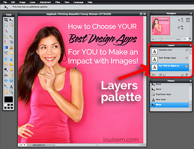 How to Use Pixlr to Add Text to Photos:  Step 4