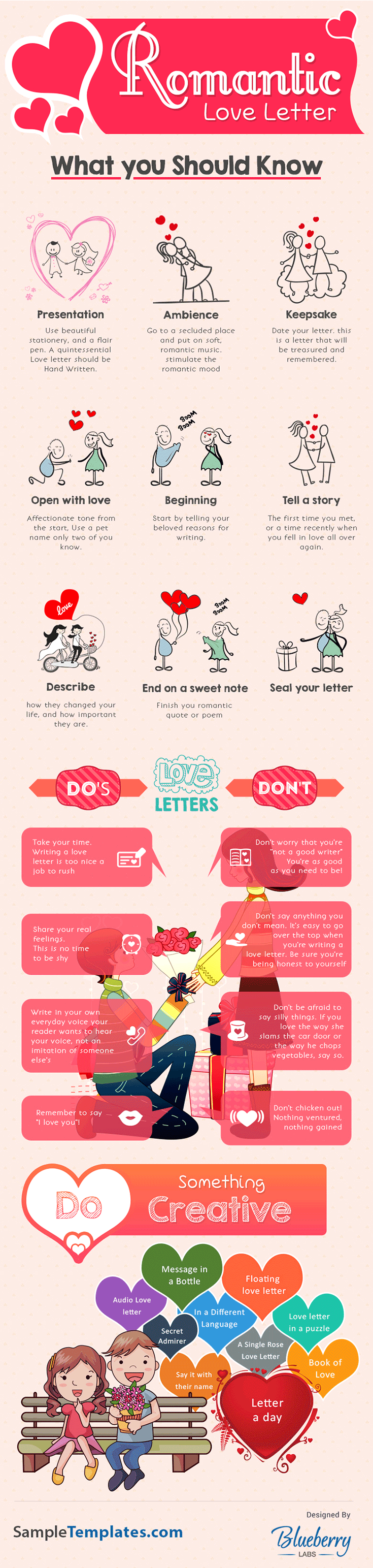 Wondering how to write a love letter to your sweetheart? Follow the tips on this infographic, and win your love's heart.