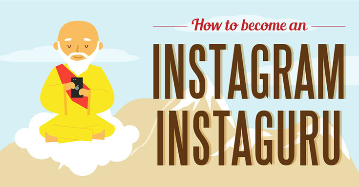 How to Become an Instagram Guru: Infographic