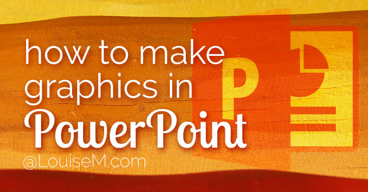 make graphics in PowerPoint banner