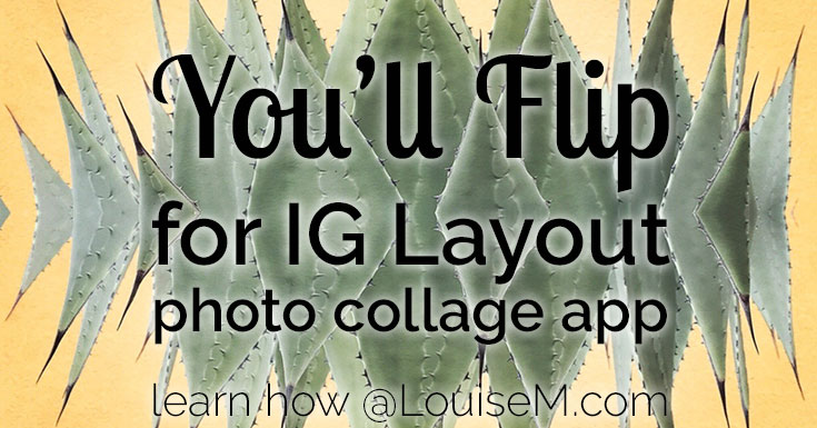 Instagram Layout app flips photo collage making on its head! Pick your photos and let Layout do the work. You have the fun tweaking, then sharing!