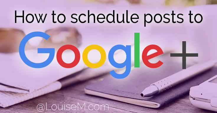 Want to schedule posts on Google Plus? You CAN! Schedule to GooglePlus personal profiles via this handy Chrome extension.