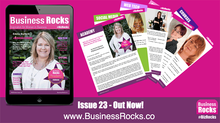 How'd you like a free business magazine? As a featured contributor to this month's Business Rocks, I'm privileged to offer this issue FREE! Enjoy.