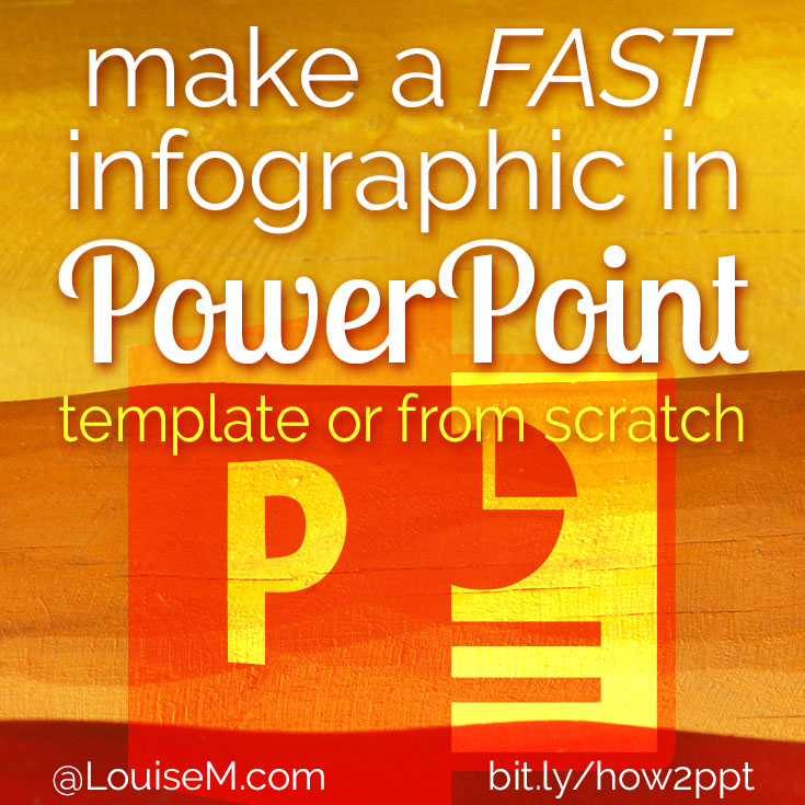 Making infographics in powerpoint