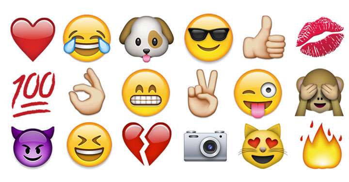 100 Most Popular Emojis on Instagram: Infographic