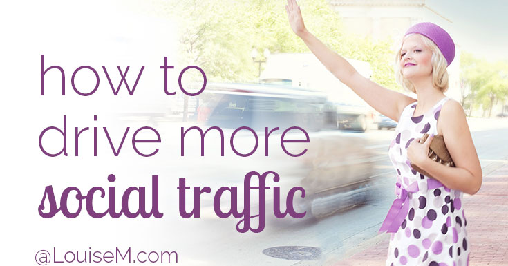 Would you like to drive more social traffic to your site? Get your readers to help! Make it easy for them to share your images and link back to your site.