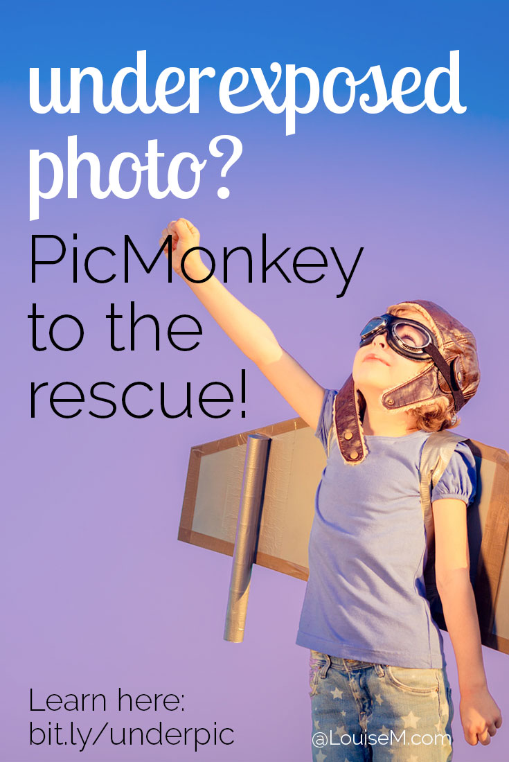 Underexposed photo? Don't trash it – rescue it! This video shows you how to adjust exposure using PicMonkey to save your photo from the throwaway pile.