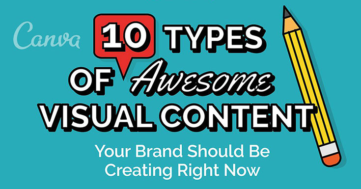 10 Visual Content Types You Should Be Creating Right Now: Infographic
