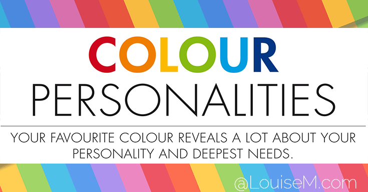 Color Personality: Test Yours With This Infographic!