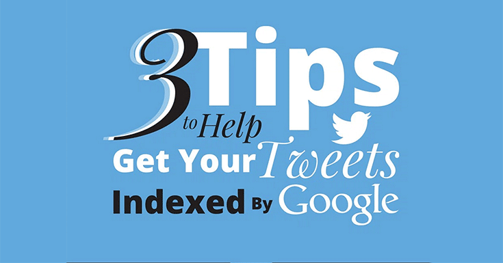 Are your tweets on Google search? With tweets indexed, Google now has more news available to searchers. Here's how to get found in the search results!