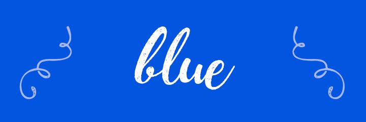 Blue Color Personality banner