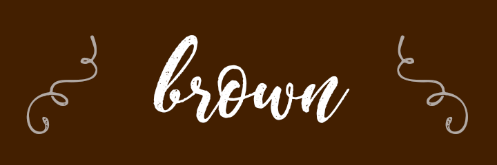 Brown Color Personality banner