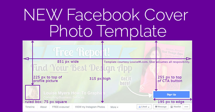 Facebook Cover Photo 2017 Template It Changed Again